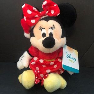 New ❤️Disney Baby Minnie Mouse rattle doll …